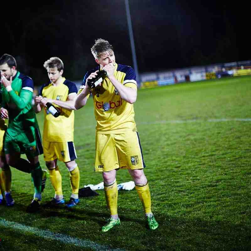 Tadcaster Albion Achieve Promotion and are Crowned Champions - David Lindsay