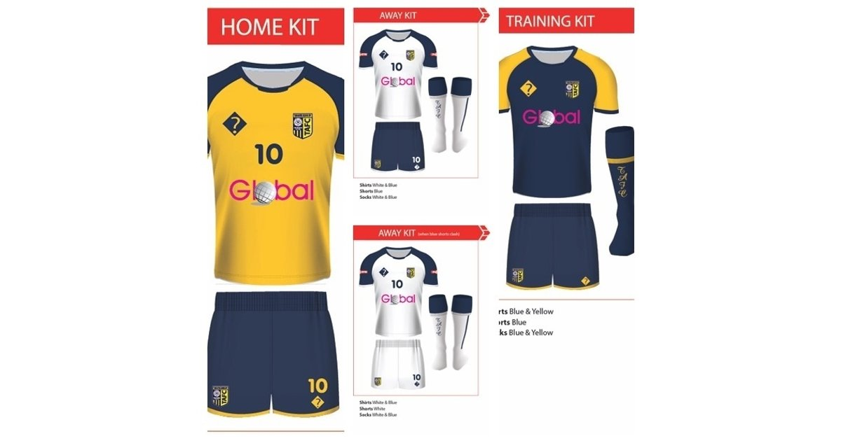Breaking News: 2016/17 Kits Revealed - News - Tadcaster Albion AFC