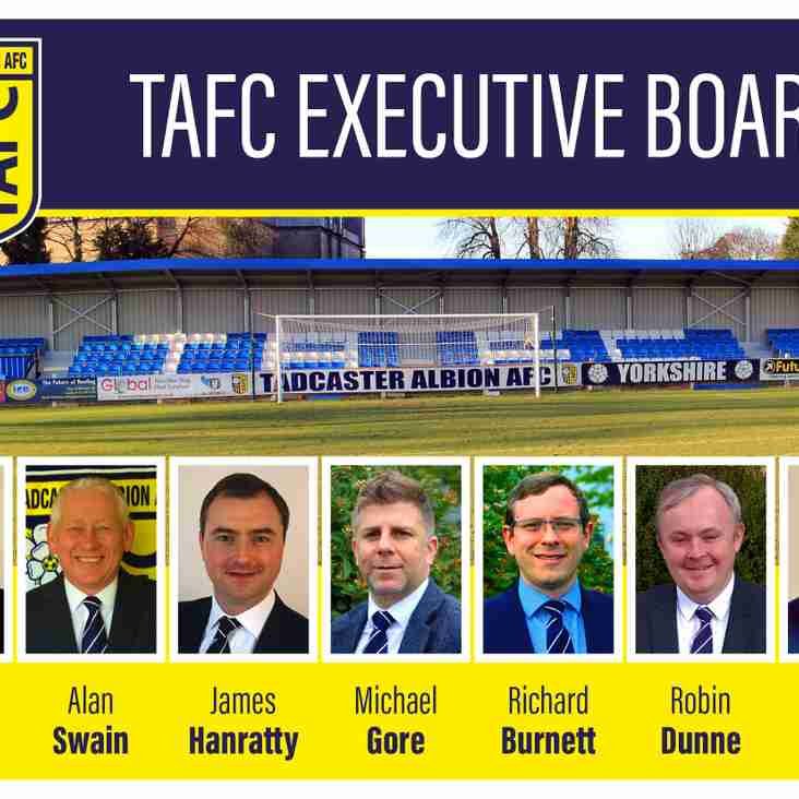 Meet The New Executive Board