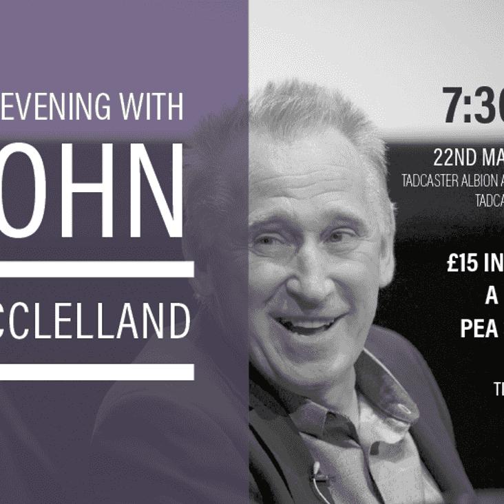 An Evening With John McClelland
