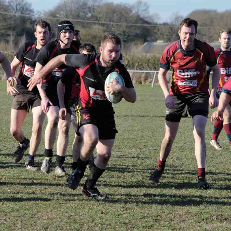 2nd XV v Bournville 3rd  - 7th March 2015