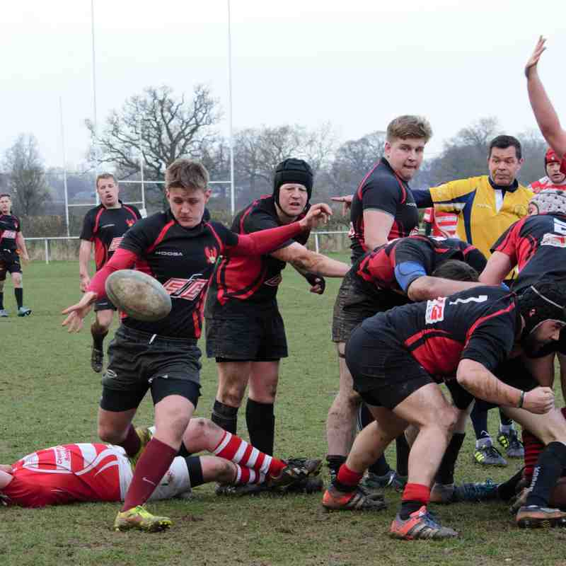 1st XV v Claverdon - 14th March 2015
