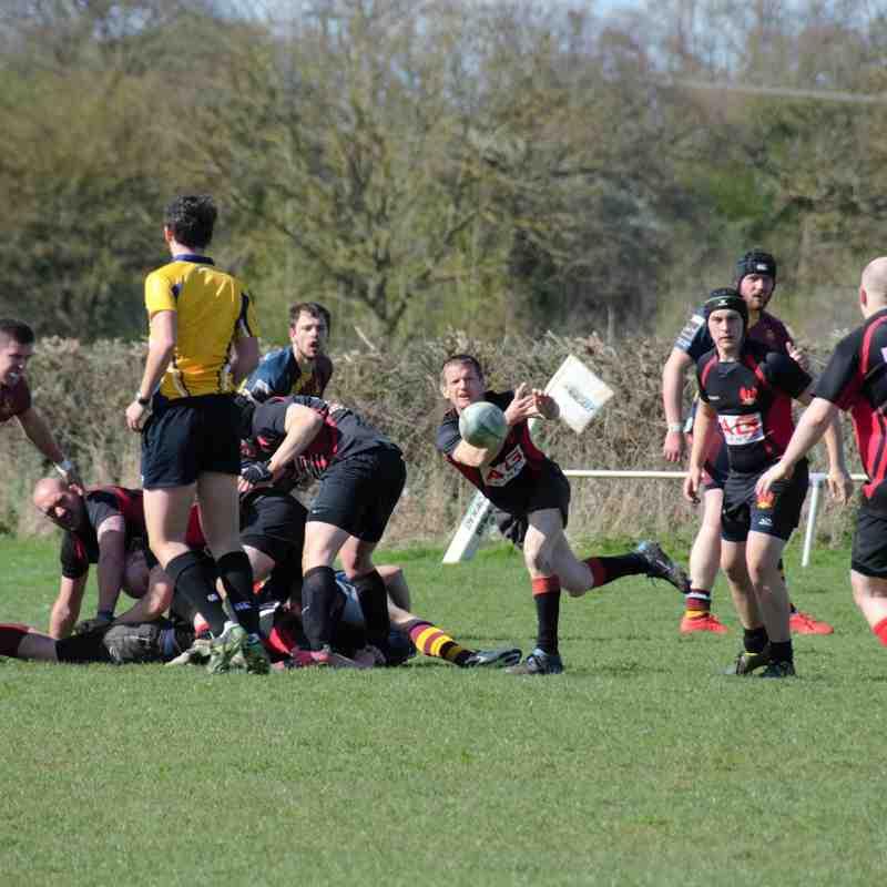 1st XV v Malvern 3rds - 11th April 2015
