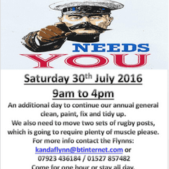 Rugby Force Club Clean Up Day