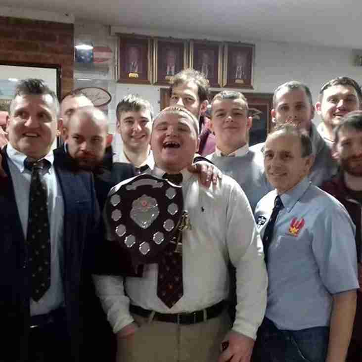 Warwickshire 2nd XV Shield Winners