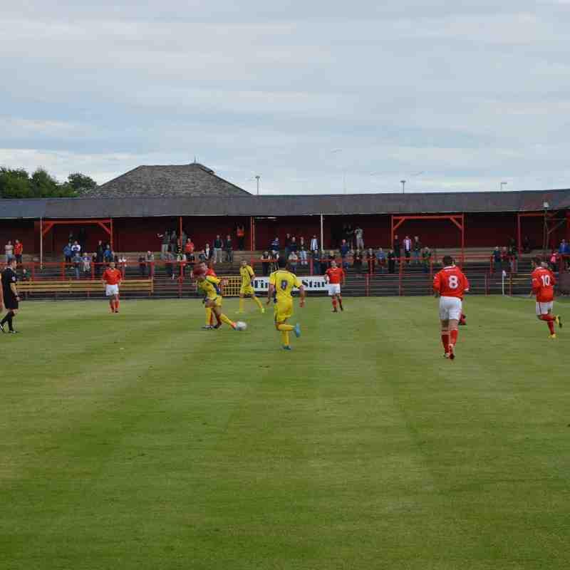 Reds v Carlisle 9 July 2015