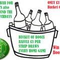 Support The Booze Bucket Raffle