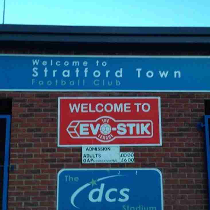 It's 18th v 22nd As Stratford Host Bedworth