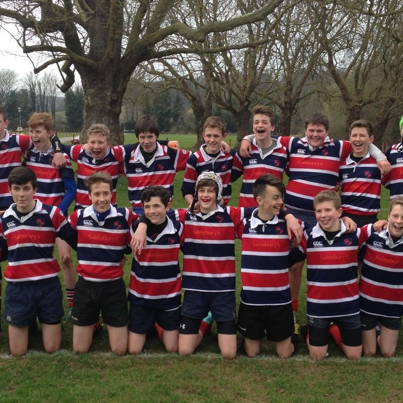 Under 15 lose to Hungerford 0 - 44