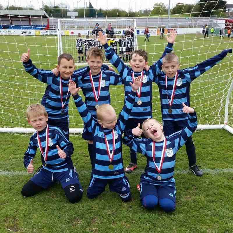Bloxham Rangers FC - Under 8s - Brackley Town Tournament