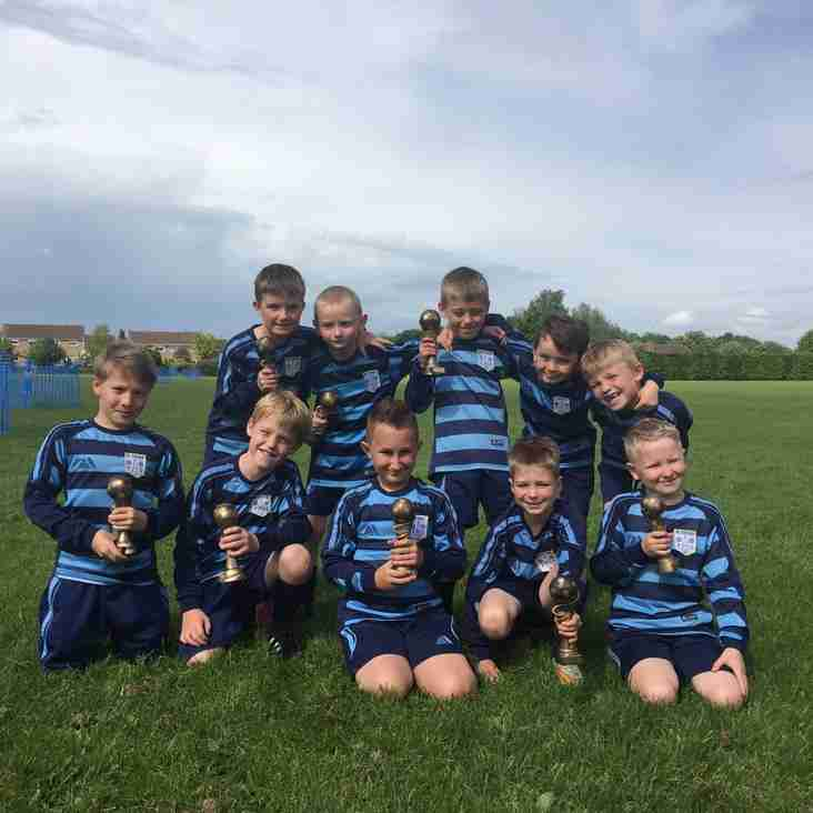 Under 8s Rangers Season Review
