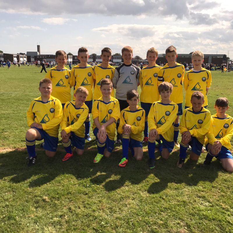 Under 12 Blues edge 9 goal thriller