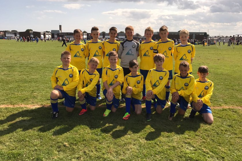 Under 12 Blues battle out draw
