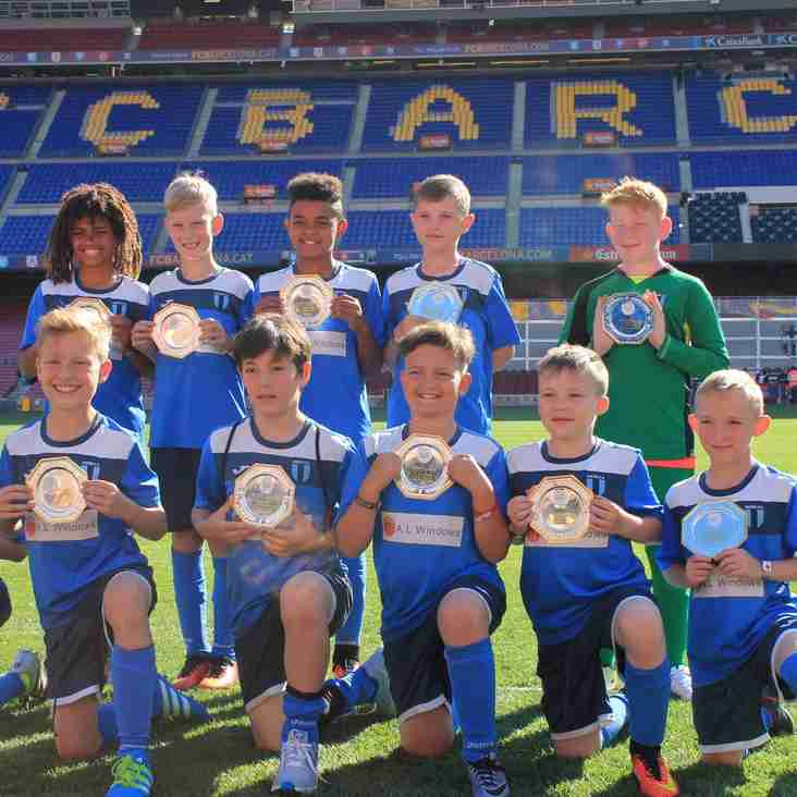Crewe FC Vipers: Europa Cup Winners 2016