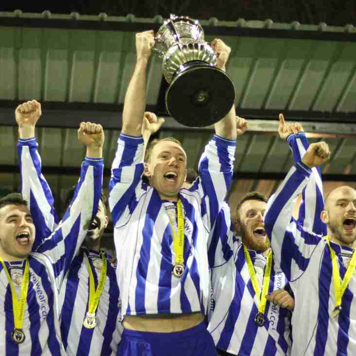 TRIPLE TROPHY FOR WHALEY! - Rylands 0-2 Whaley Bridge AFC.