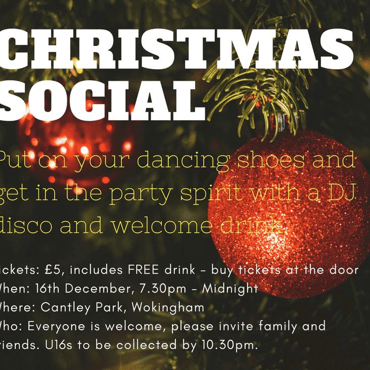 SBHC Christmas Social 2017