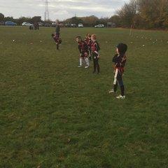 Under 8s Ashfield vs Notts Casuals