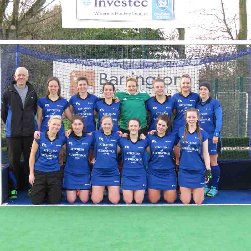 Ladies 1s 09 Feb 19