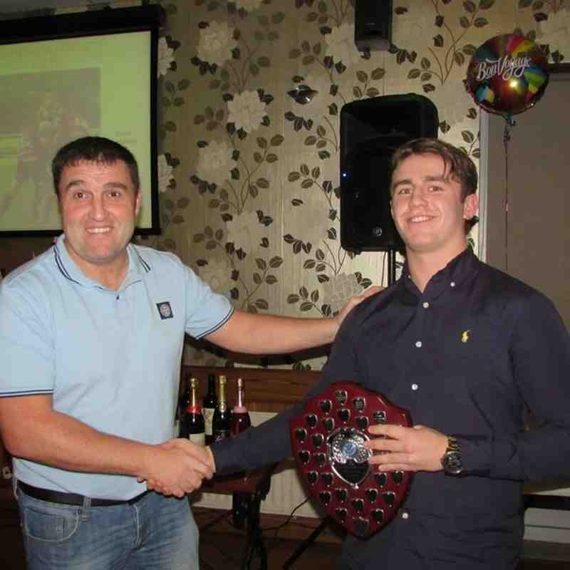 Wath Brow Hornets 2014/15 open age Presentation night