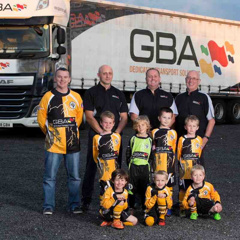 Under 7's GBA Kit Sponsor