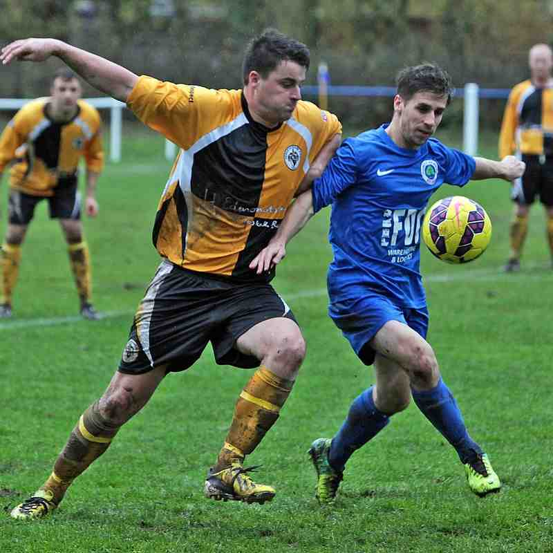 Richardson Cup 1st Round Away v Fulwood Amateurs courtesy of Ken Chapman
