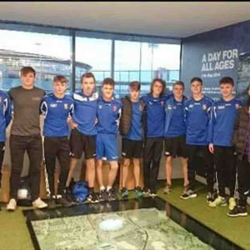 Bangor City FC U16 at Manchester City 26th October 2015