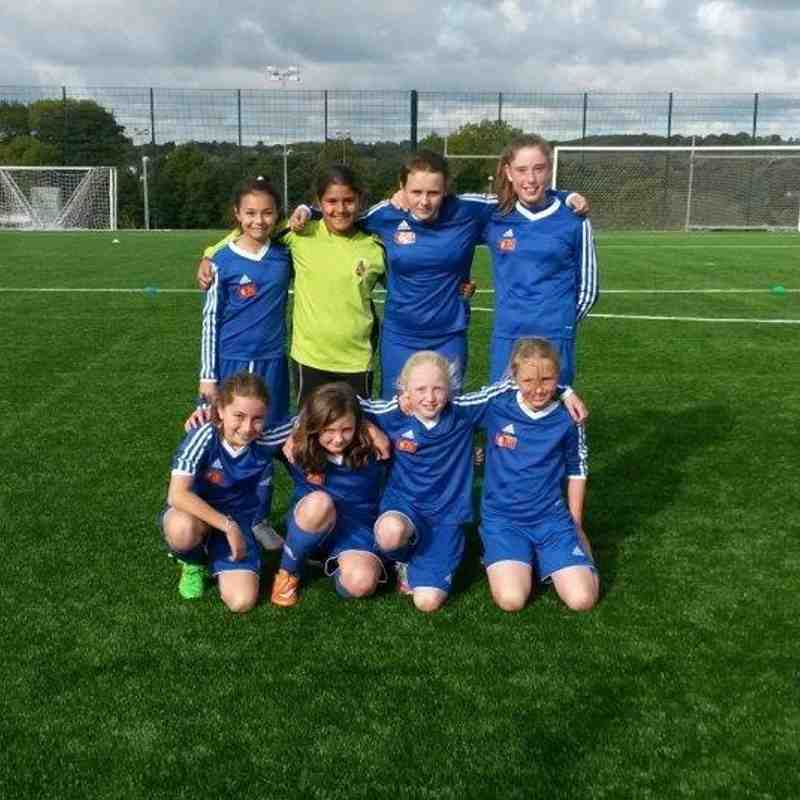 Bangor City FC U12 Girls