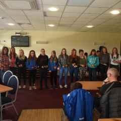 Great night at Bangor City FC Girls End of Season Presentations!!!