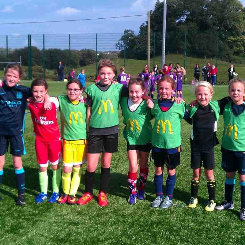 North Wales Girls League U8 and U10 Festival