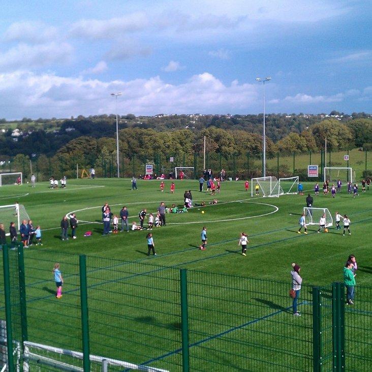 Bangor City play host to 1st 2016/2017 North Wales Girls League U8 + U10 Festival!!<