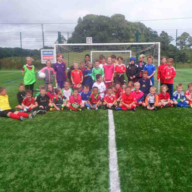 Bangor City FC Summer Soccer Camps 2016