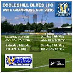 Eccleshill Blues Juniors Avec Champions Cup