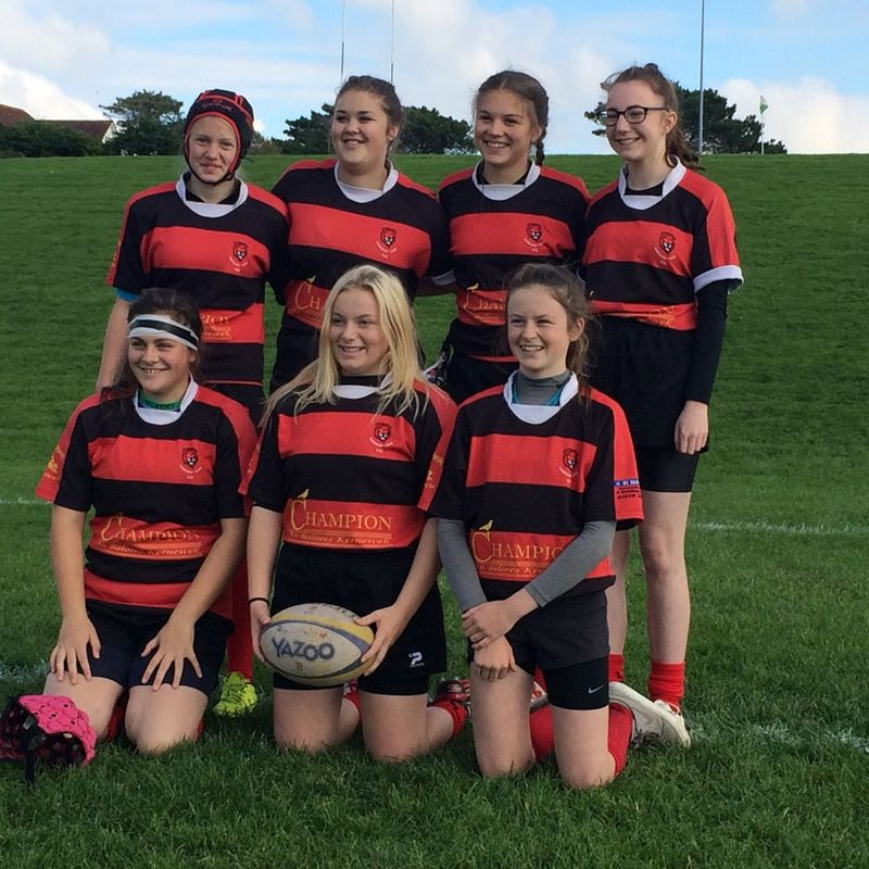 U15 girls Pitch Up & Play at Camborne