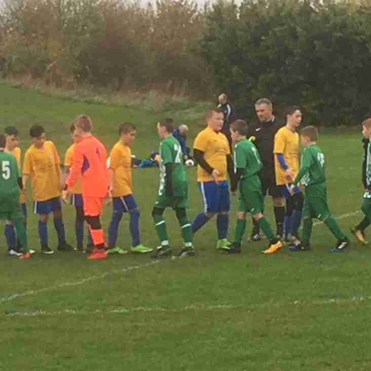 U12s march into quarter final of the North Wilts Cup