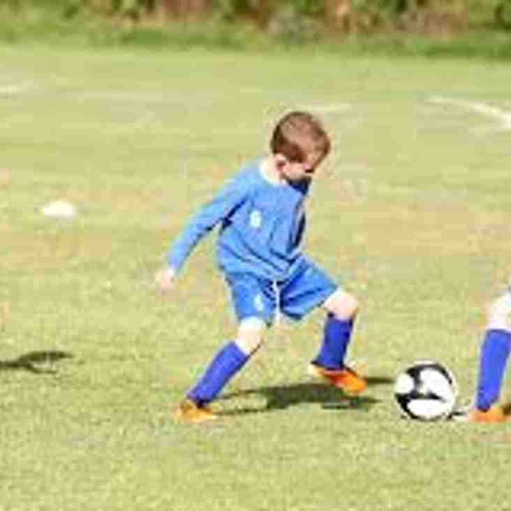 Mini soccer at Carterton FC is taking place this Saturday morning 1st June, 9.30am to 10.30am