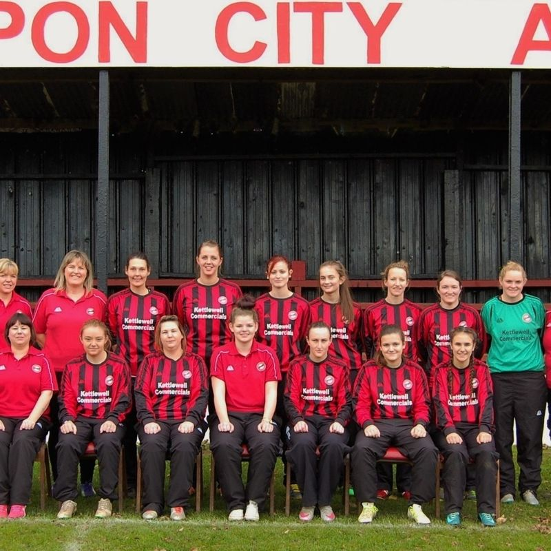 Ripon City Ladies lose to Middleton Athletic 5 - 2