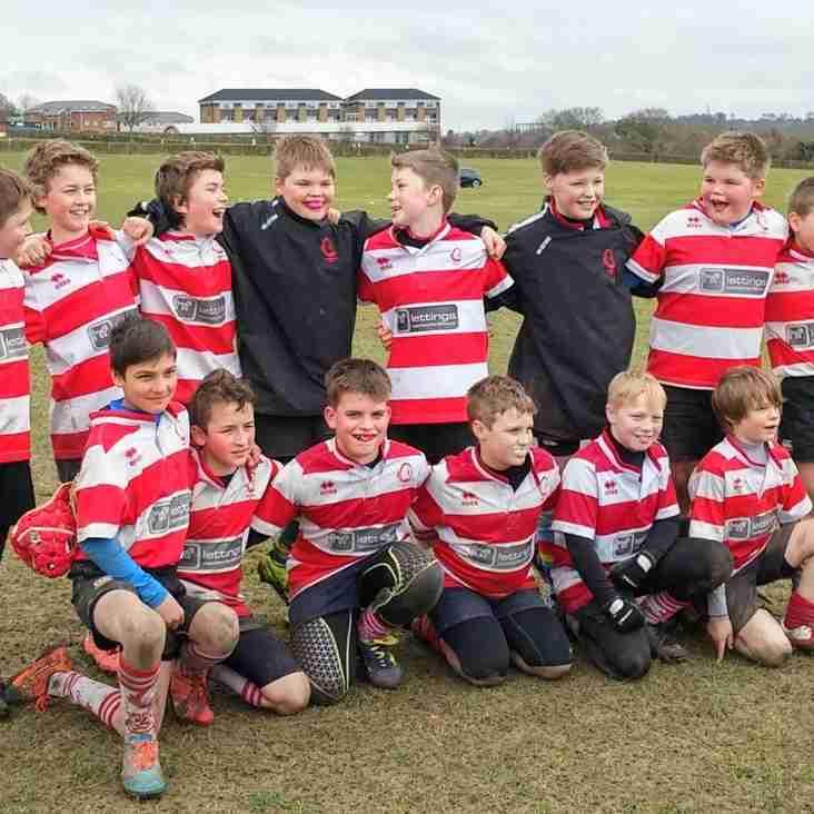 U11s Wiltshire Cup Success!!!
