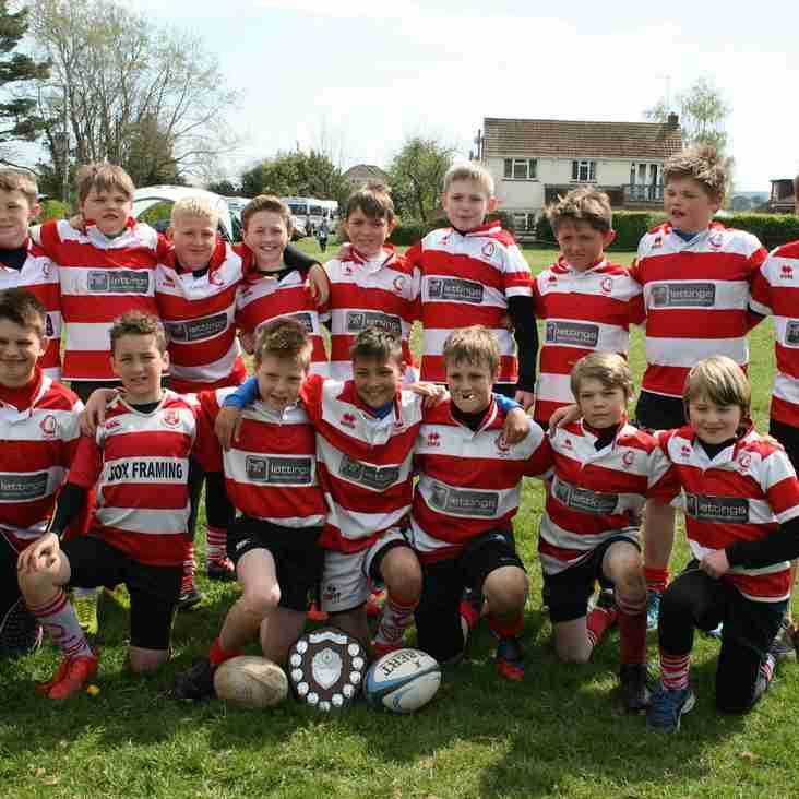 Corsham U11s Win the Wiltshire Cup!!!