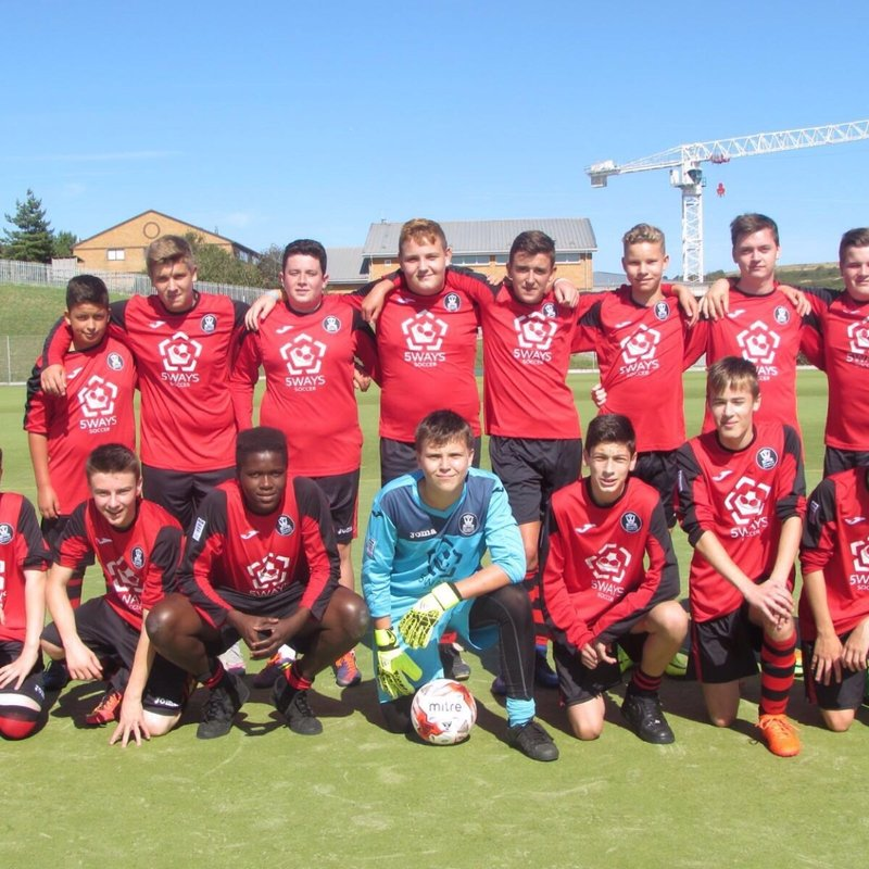Under 16 Reds - SSYL  lose to Eastbourne Borough Youth Black  2 - 0
