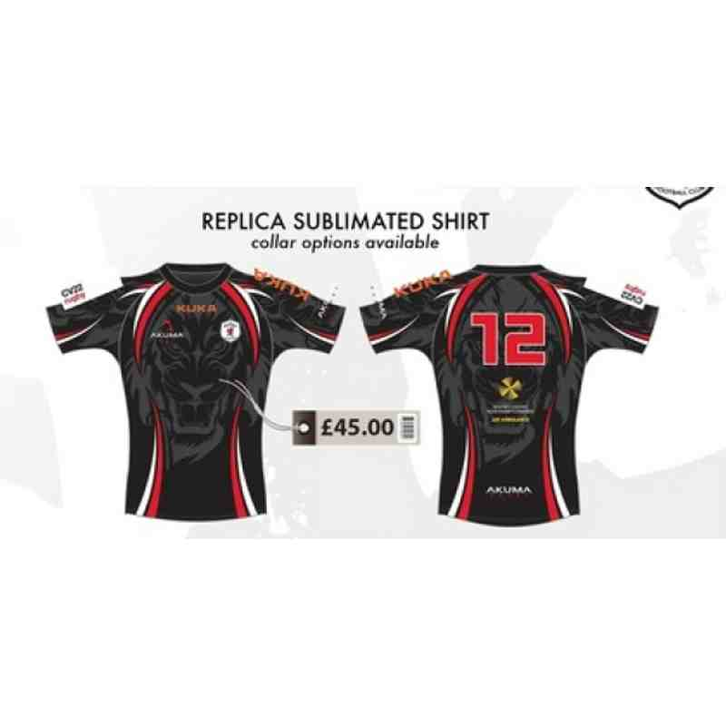 Replica Sublimated Playing Shirt