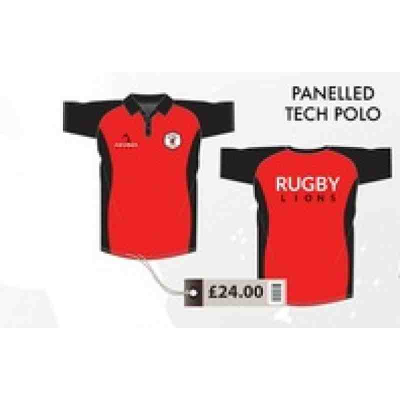 Pannelled Tech Polo