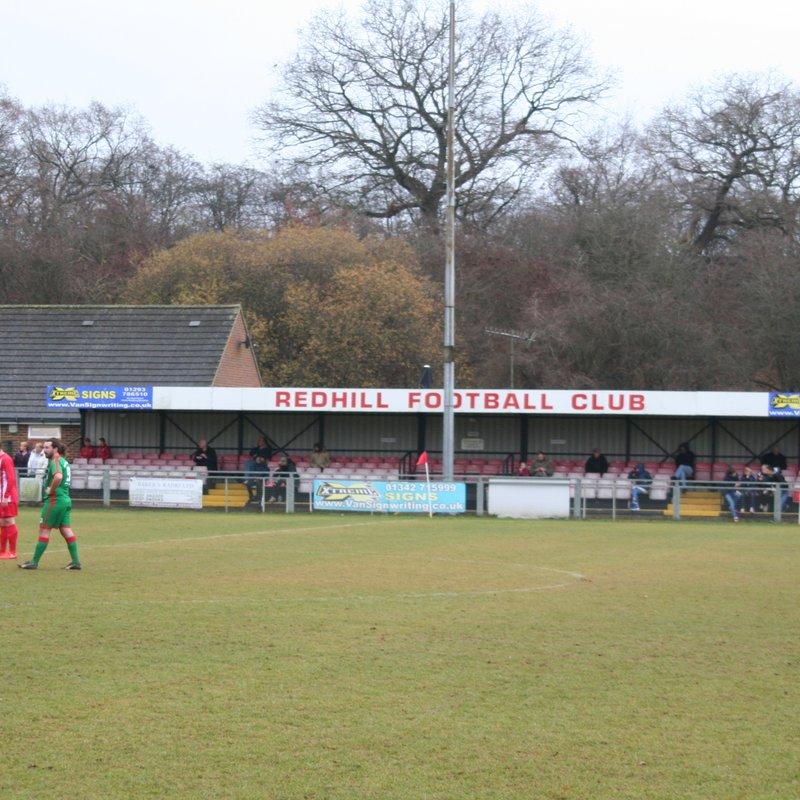 Redhill  U18's  v  Chessington & Hook United U18's Monday 20th November
