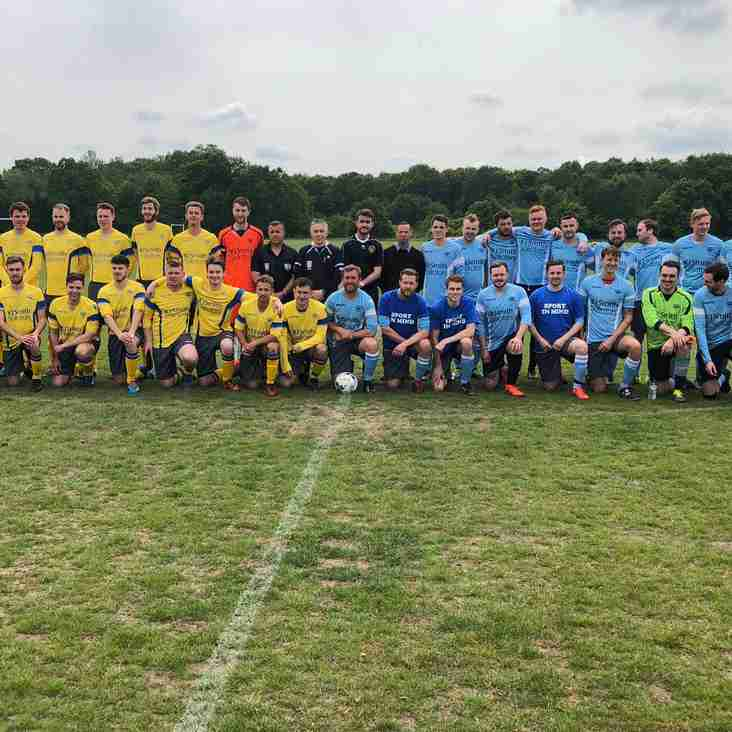 Charity football match raises £1,500 for local mental health charity