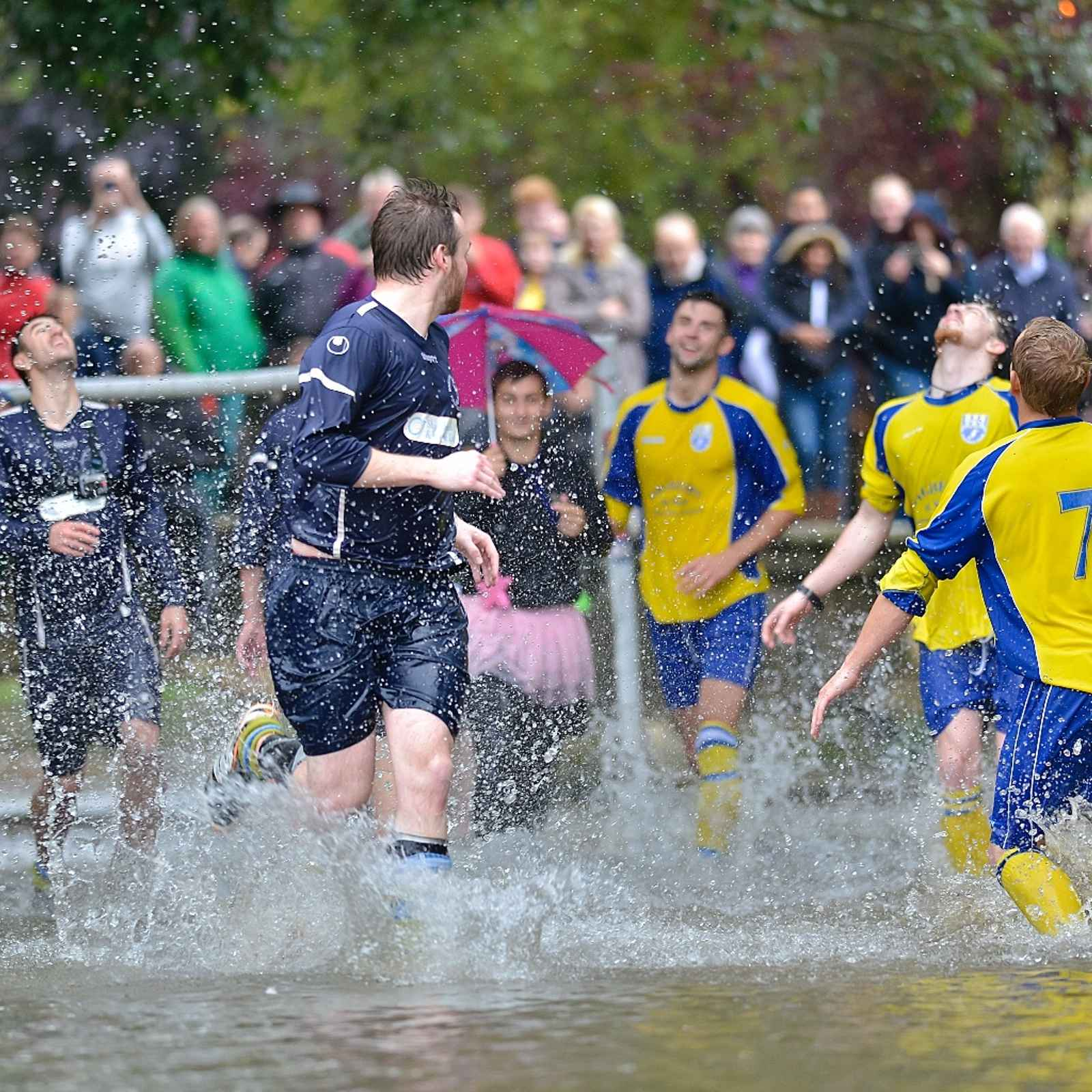 Football in the River 2016