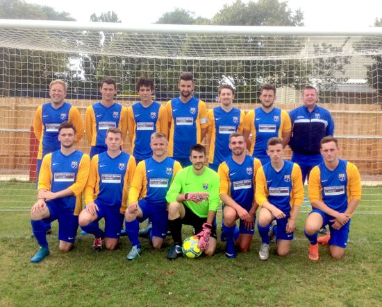 Bourton Rovers FC First XI 2016-17