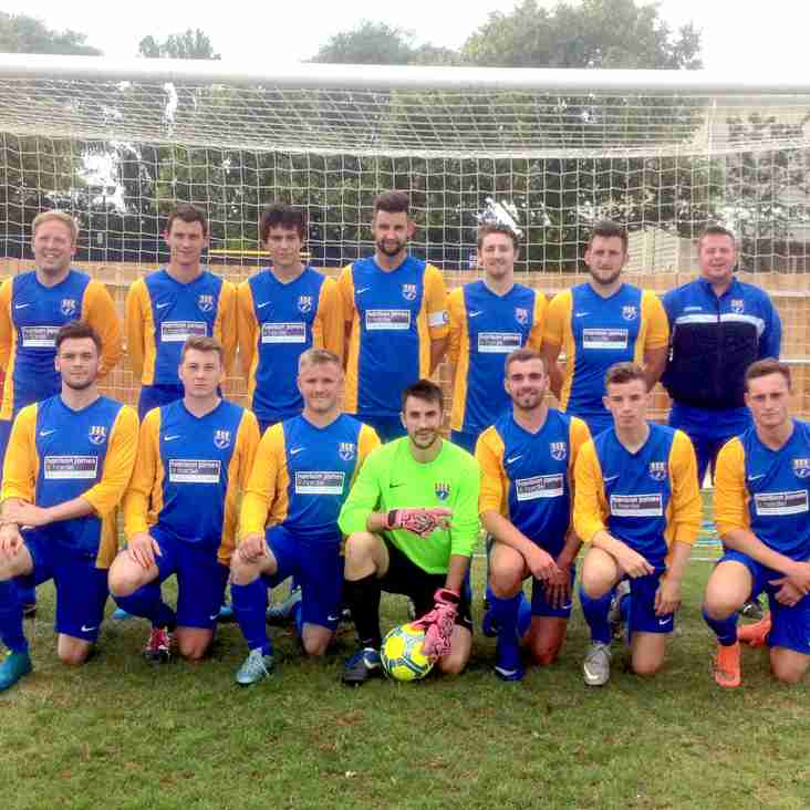 First XI record another away victory, sporting our new kit!