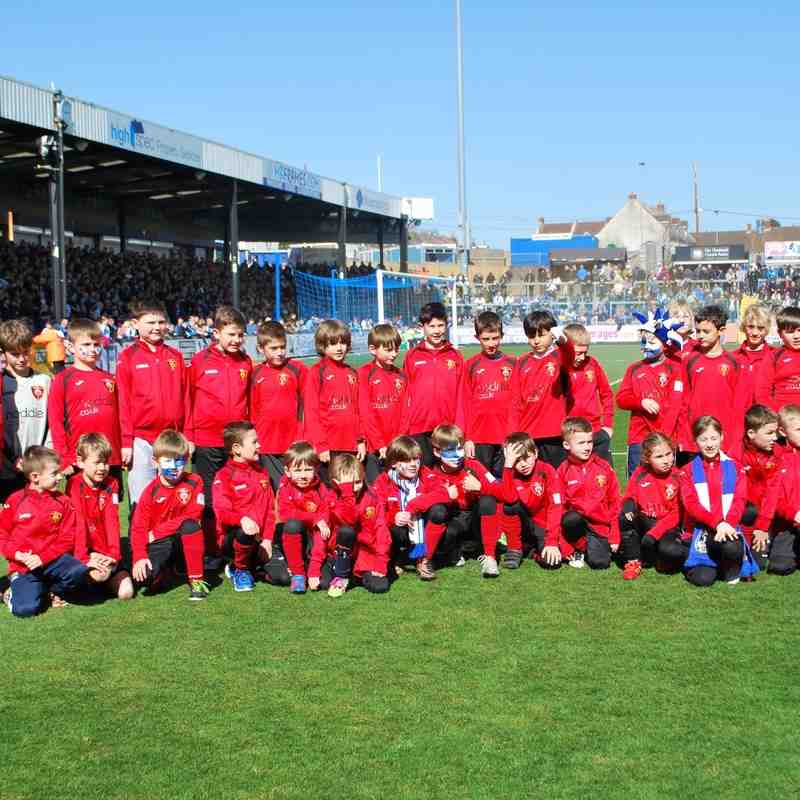U9 Section Visit to Bristol Rovers Fc versus Crawley Town