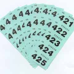RAFFLE NUMBERS FROM SATURDAY