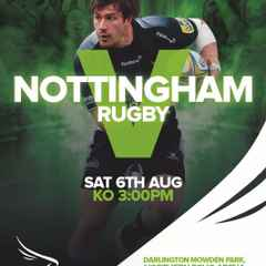 NEWCASTLE FALCONS v NOTTINGHAM RUGBY TICKETS NOW ON SALE