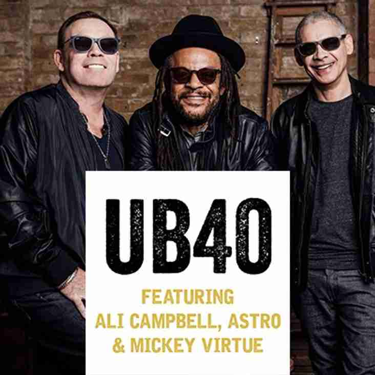 UB40  TO PERFORM AT THE ARENA AS PART OF THE 2017 GRANDSLAM UK TOUR